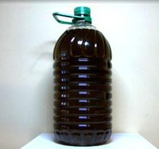 Botella de pet de 5 litros