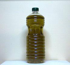 Botella de pet baja de 1 litro