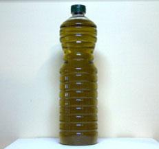 Botella de pet alta de 1 litro